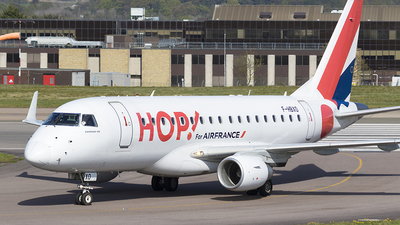F-HBXO - Embraer 170-100LR - HOP! for Air France