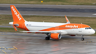 A picture of GEZPE - Airbus A320214 - easyJet - © Alexander Jeglitsch