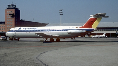 D-AMAM - British Aircraft Corporation BAC 1-11 Series 515FB - Hapag-Lloyd