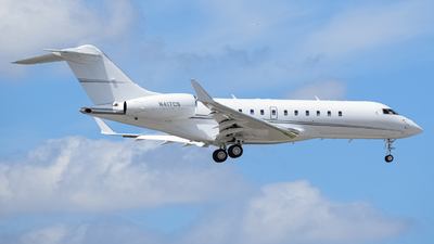 N417CS - Bombardier BD-700-1A11 Global 5000 - Private