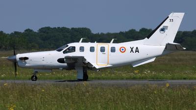 33 - Socata TBM-700 - France - Air Force