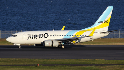 JA08AN - Boeing 737-781 - Air Do (Hokkaido International Airlines)