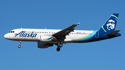 A picture of N852VA - Airbus A320214 - Alaska Airlines - © Yoshio Yamagishi