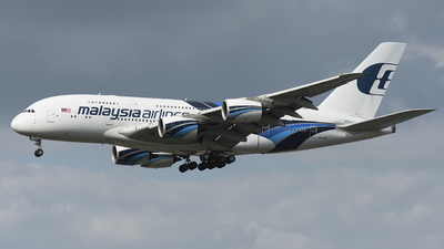 9M-MNC - Airbus A380-841 - Malaysia Airlines