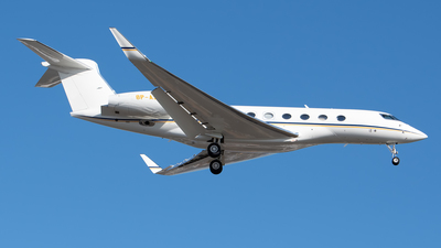 8P-ASD - Gulfstream G650ER - Private