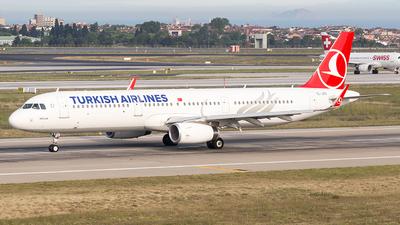 TC-JTG - Airbus A321-231 - Turkish Airlines