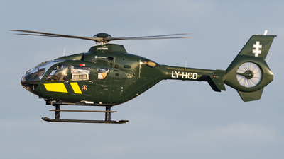 LY-HCD - Eurocopter EC 135T2+ - Lithuania - Border Guard