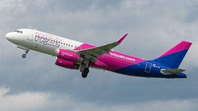 A picture of HALYA - Airbus A320232 - Wizz Air - © marfi80