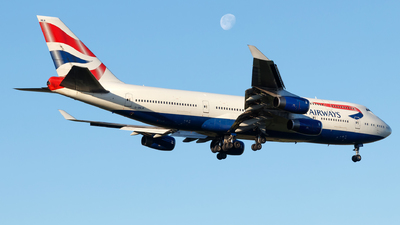 G-BNLN - Boeing 747-436 - British Airways