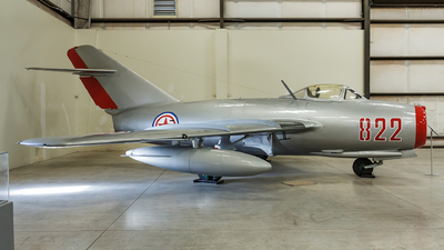 822 - Mikoyan-Gurevich MiG-15bis Fagot - North Korea - Air Force