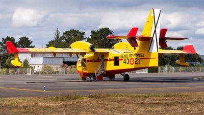 UD.13-21 - Canadair CL-215T - Spain - Air Force