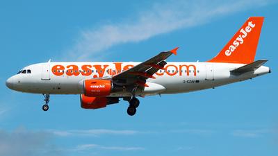 G-EZAV - Airbus A319-111 - easyJet