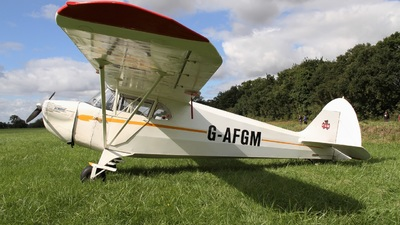G-AFGM - Piper J-4A Cub Coupe - Private