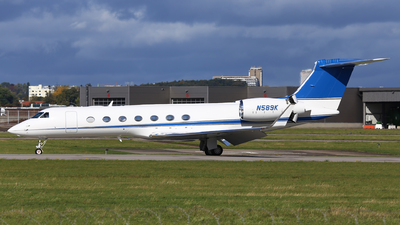 N589K - Gulfstream G550 - Private