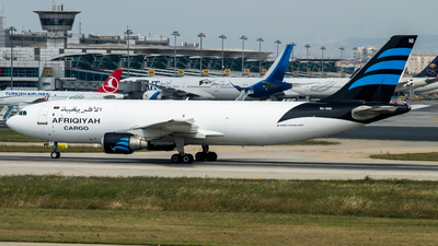 A picture of 5AONS - Airbus A300B4622R(F) - Afriqiyah Airways - © Furkan Borakazi
