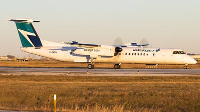 A picture of CGWEN - De Havilland Canada Dash 8400 - WestJet - © Shon Fridman