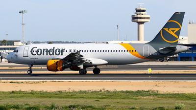 A picture of DAICD - Airbus A320212 - Condor - © Javier Rodriguez - Amics de Son Sant Joan