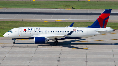 N117DU - Airbus A220-100 - Delta Air Lines