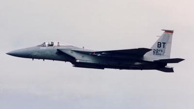 80-0022 - McDonnell Douglas F-15C Eagle - United States - US Air Force (USAF)