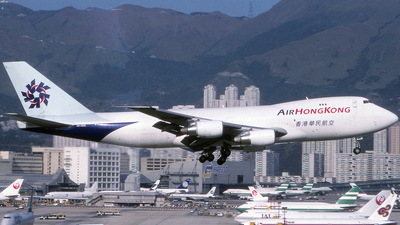 VR-HME - Boeing 747-2L5B(SF) - Air Hong Kong
