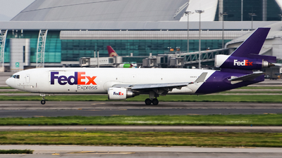 N582FE - McDonnell Douglas MD-11(F) - FedEx