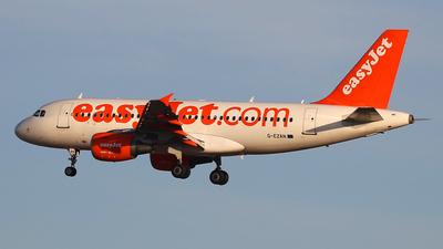 G-EZAN - Airbus A319-111 - easyJet