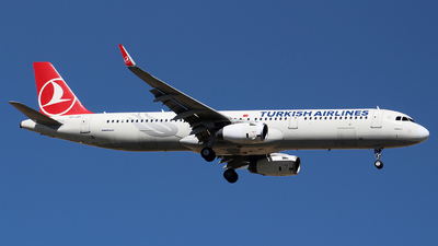 A picture of TCJSI - Airbus A321231 - Turkish Airlines - © Ali Mithat Ozdogan
