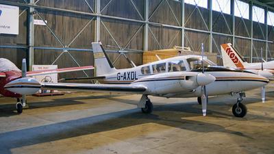 G-AXDL - Piper PA-30-160 Twin Comanche B - Northern Executive Aviation