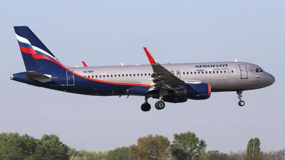 VQ-BRV - Airbus A320-214 - Aeroflot