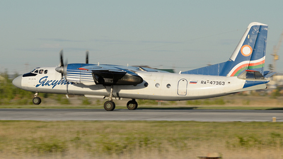 RA-47363 - Antonov An-24RV - Yakutia Airlines