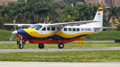 HK-5116G - Cessna 208B Grand Caravan EX - Colombia - Gobernacion de Antioquia