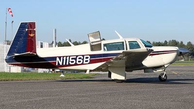 N1156B - Mooney M20J - Private