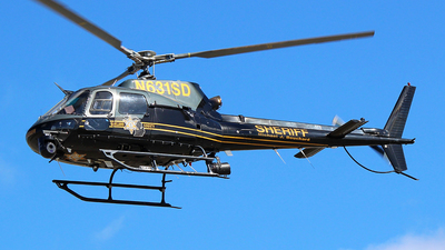 N631SD - Eurocopter AS 350B2 SuperStar - United States- Oakland County Sheriff's Department