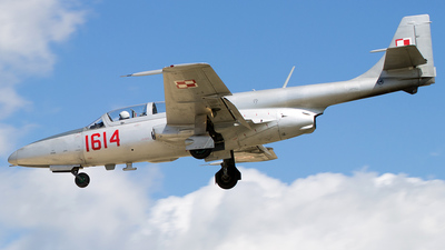 1614 - PZL-Mielec TS-11 Iskra - Poland - Air Force