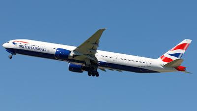 G-STBP - Boeing 777-300ER - British Airways