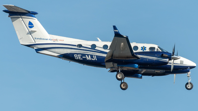 SE-MJI - Beechcraft B200GT Super King Air - Babcock Scandinavian AirAmbulance
