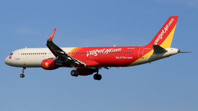 A picture of VNA649 - Airbus A321211 - VietJet Air - © Toanla_SFAP
