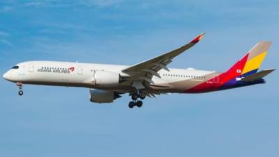 HL8383 - Airbus A350-941 - Asiana Airlines
