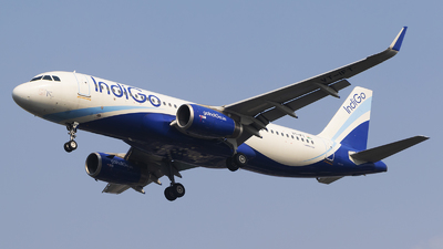 VT-IFT - Airbus A320-232 - IndiGo Airlines