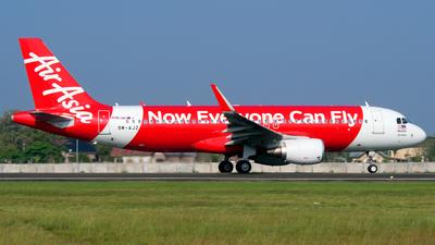 9M-AJZ - Airbus A320-216 - AirAsia