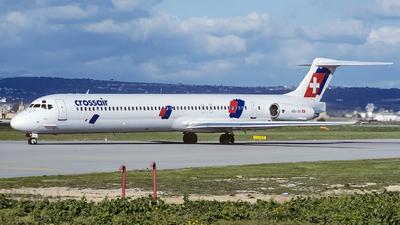 HB-INV - McDonnell Douglas MD-83 - Crossair