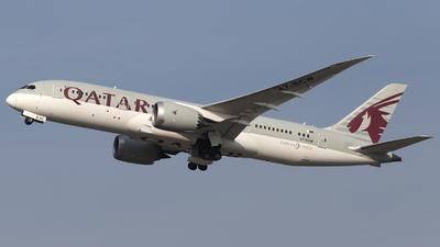 A picture of A7BCW - Boeing 7878 Dreamliner - Qatar Airways - © László Kurilla