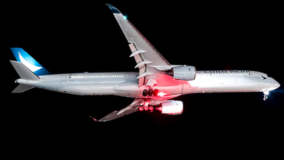 A picture of BLXI - Airbus A3501041 - Cathay Pacific - © Daniel Kotronis