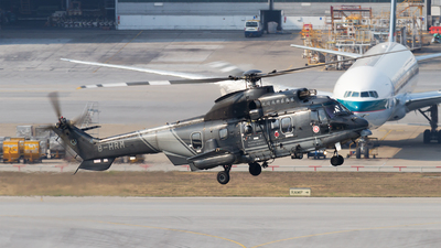 B-HRM - Aérospatiale AS 332L2 Super Puma - Hong Kong - Government Flying Service (GFS)
