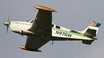 A picture of N97GW - Beech A36 Bonanza - [E1143] - © BaszB