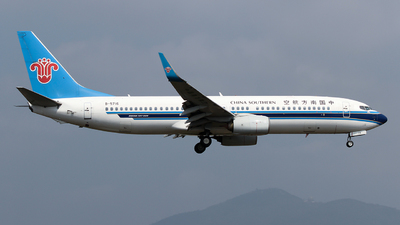 A picture of B5716 - Boeing 73781B - China Southern Airlines - © ceci wong