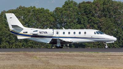 A picture of N17AN - Cessna 560XL Citation Excel - [5605030] - © OSCAR GUILLEN
