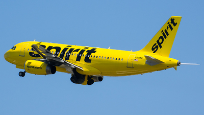 A picture of N515NK - Airbus A319132 - Spirit Airlines - © Evan Dougherty