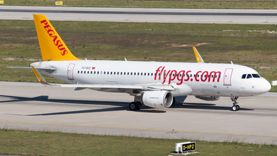 A picture of TCDCC - Airbus A320214 - Pegasus Airlines - © Kerem Sahin