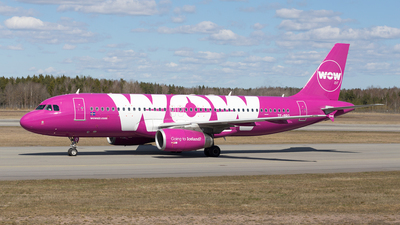 TF-BRO - Airbus A320-232 - WOW Air